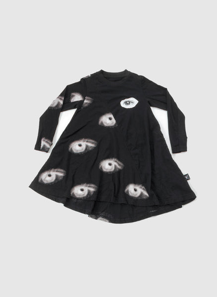 Nununu Eye 360 Dress in Black - FINAL SALE