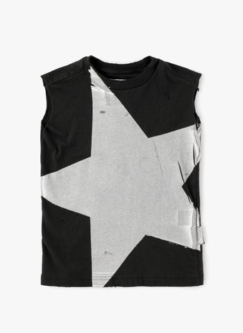 Nununu Mega Star Sleeves Shirt Black