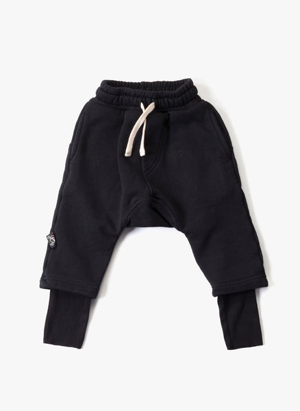 Nununu Ninja Pants in Black - FINAL SALE