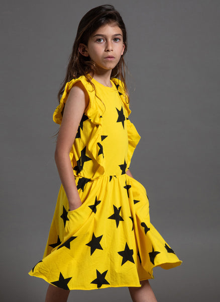 Nununu Ruffled Star Dress - FINAL SALE