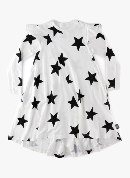 Nununu Ruffled Sleeve 360 Star Dress - FINAL SALE