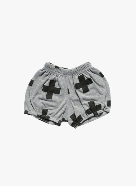 Nununu Plus Yoga Shorts in Heather Gray - FINAL SALE
