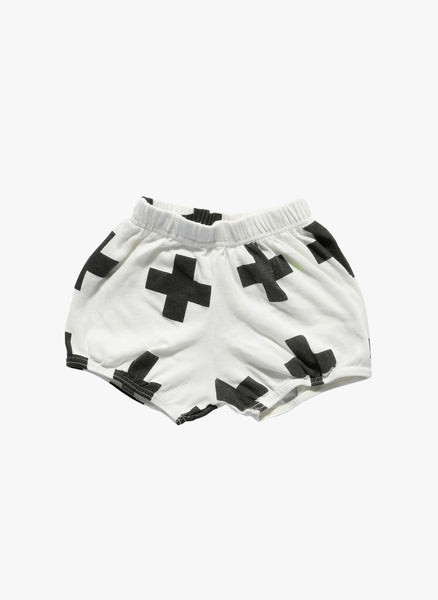 Nununu Plus Yoga Shorts in White - FINAL SALE
