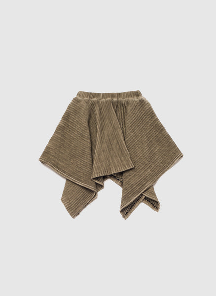 OMAMImini Handkerchief ottoman skirt in Vintage Grey - FINAL SALE