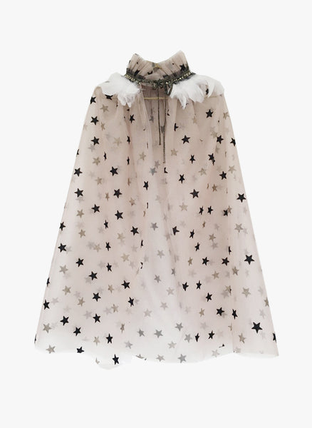 Petite Hailey Dream Feather Cape - Star
