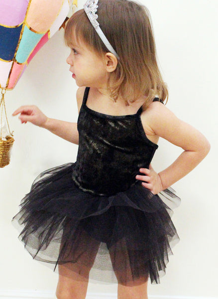 Petite Hailey Velvet Leotard Tutu - FINAL SALE