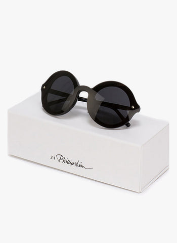 3.1 Phillip Lim 79 Unique Single Lens Round Sunglasses