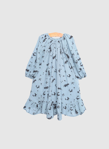 SIAOMIMI Gretal Dress in Bluebird Girl - FINAL SALE