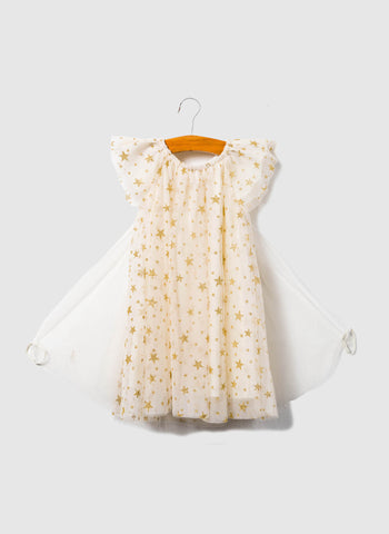 SIAOMIMI PLAY Fairy Dress in Cream Star - FINAL SALE