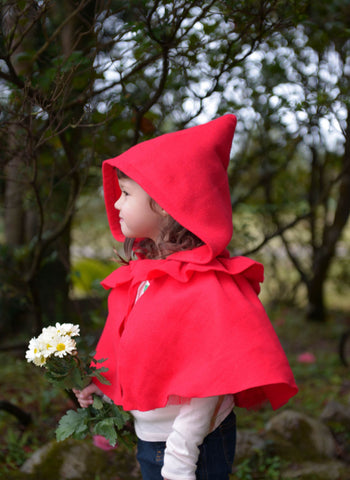 SIAOMIMI PLAY Little Red Riding Hood in Red