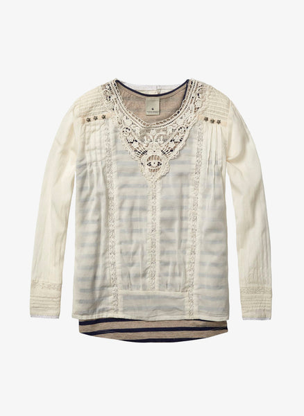 Scotch R'Belle 2 in 1 Lace Top - 1454-08.53404 - FINAL SALE