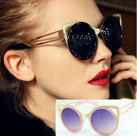 Linda Farrow X Erdem Cat Eye Black Acetate Sunglasses - FINAL SALE
