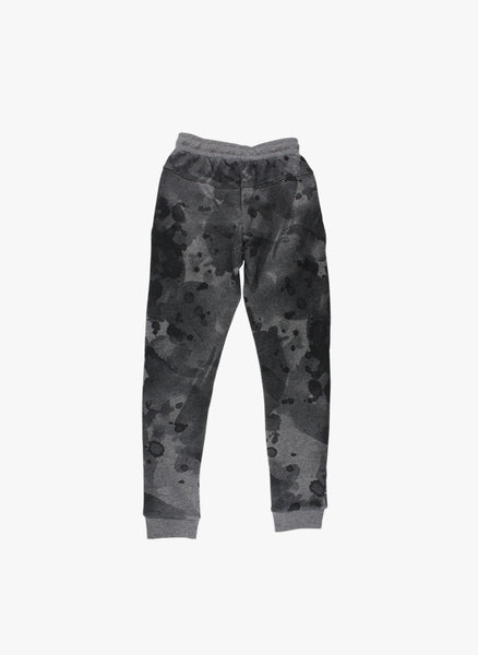 Small Rags Dip Dye Sweatpants in Black