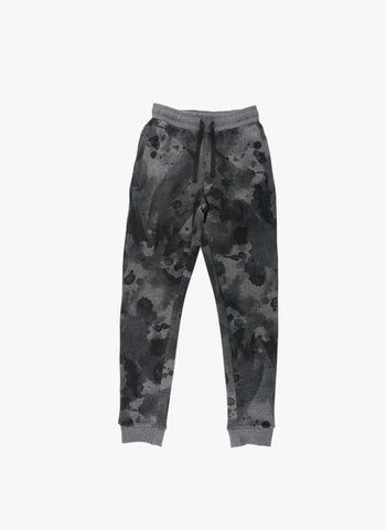 Small Rags Dip Dye Sweatpants in Black - FINAL SALE