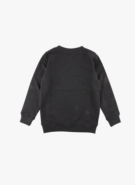Small Rags Graphic Sweatshirt in Black