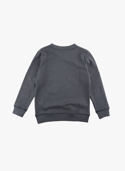 Small Rags Graphic Sweatshirt in Blue