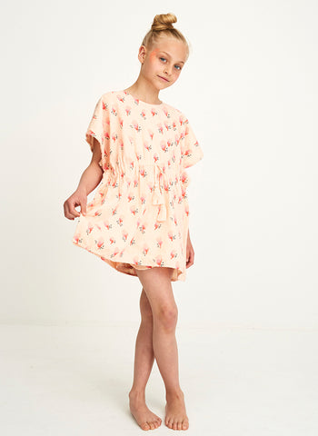 Soft Gallery Pilou T-Shirt in Pale Dogwood AOP Blossom - FINAL SALE