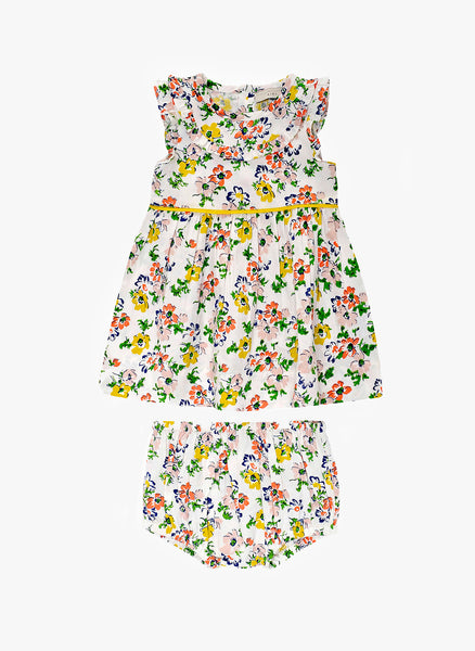 b5250d3003e0 Stella McCartney Kids Sienna Baby Girl Floral Print Dress - 363366 ...
