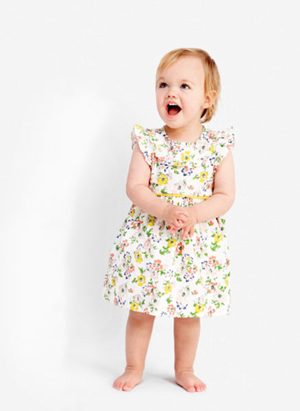Stella McCartney Kids Sienna Baby Girl Floral Print Dress - 363366 - FINAL SALE