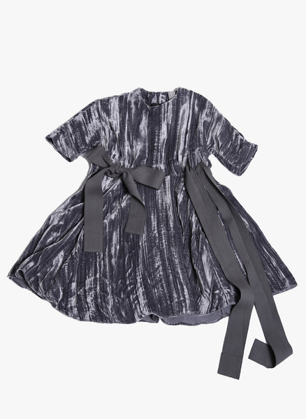 Tia Cibani Kids Salome Frock in Elephant