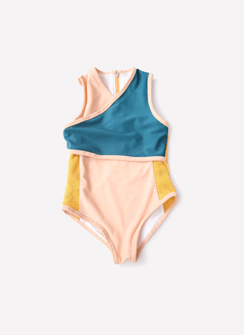 Tia Cibani Cross Over One Piece Swimsuit
