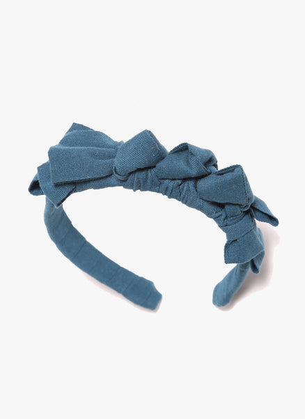 Tia Cibani Knotted Ribbon Headband in Root