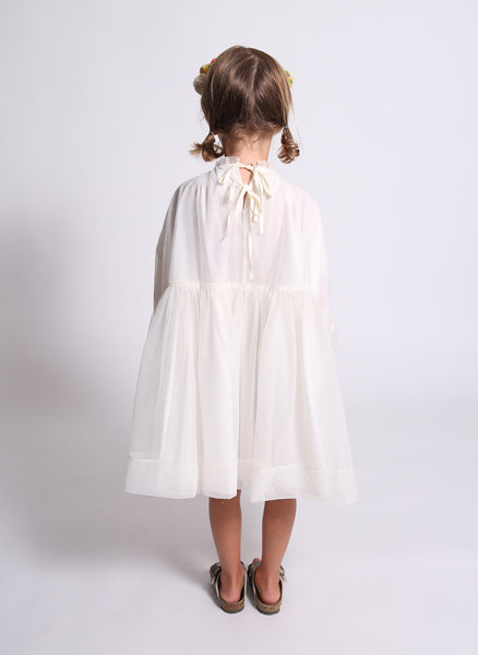 Tia Cibani Lined Layering Smock in Pampas - FINAL SALE