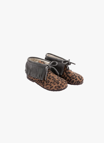 Tocoto Vintage Animal Print Indian Boots - FINAL SALE