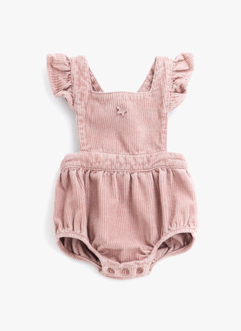 Tocoto Vintage Baby Corduroy Body in Pink - FINAL SALE