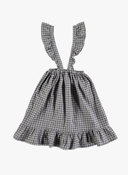 Tocoto Vintage Checked Skirt in Grey