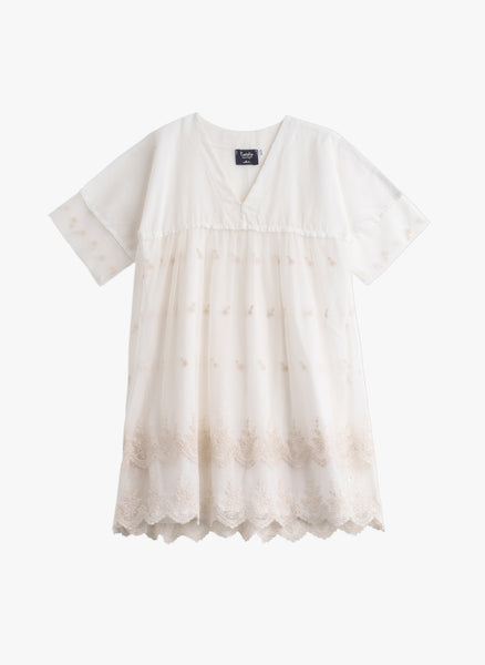 Tocoto Vintage Girls Embroidery Dress -  FINAL SALE