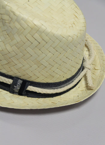 Tocoto Vintage Hat in White - FINAL SALE