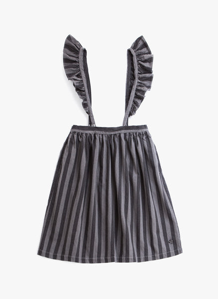Tocoto Vintage Stripe Skirt in Stripes - FINAL SALE