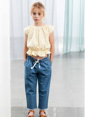Tocoto Vintage Denim Trouser