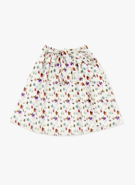 Tuchinda Giada Skirt in Flower Art - FINAL SALE