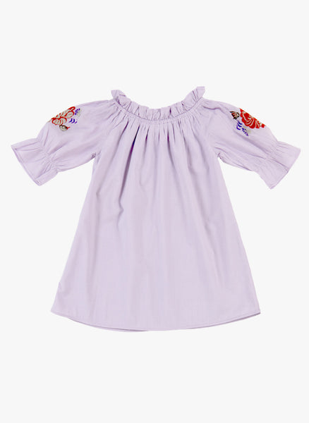 Tuchinda Tais Dress in Lavender Frost - FINAL SALE