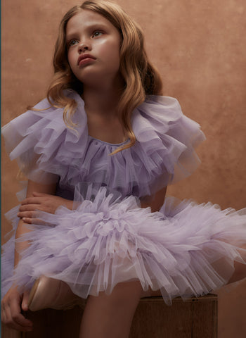 Tutu Du Monde Cuba Tulle Dress in Iris