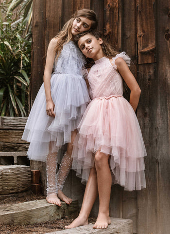 Tutu Du Monde Fleur Tutu Dress in Blush - FINAL SALE