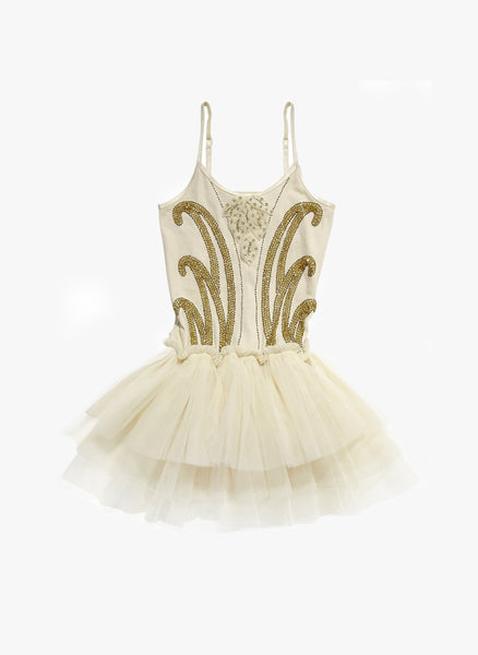 Tutu Du Monde Golden Apple Tutu Dress in Coconut