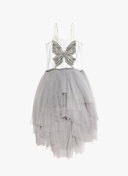 Tutu Du Monde Butterfly Effect Tutu Dress in Silver - FINAL SALE