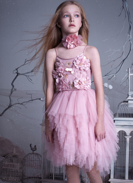Tutu Du Monde Winter Blossom Tutu Dress in Blossom