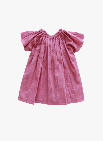 Vierra Rose Bailey Bow Back Dress in Mauve - FINAL SALE
