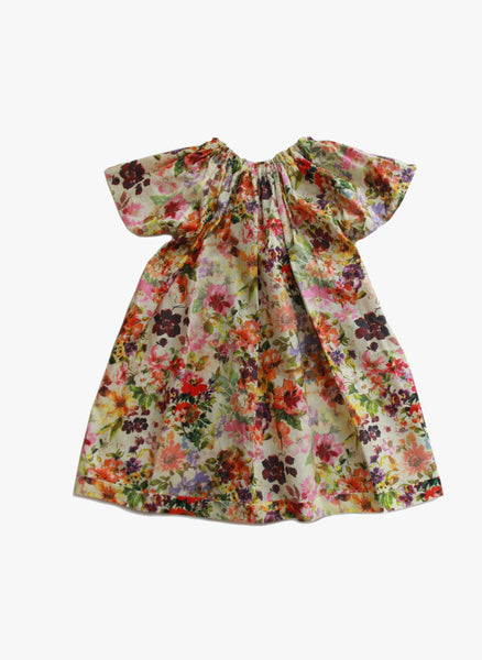 Vierra Rose Bailey Bow Back Dress in Spring Blossom - FINAL SALE