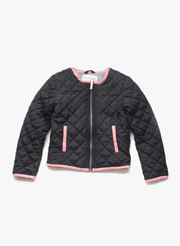 Vierra Rose Bryn Quilted Jacket in Black - FINAL SALE