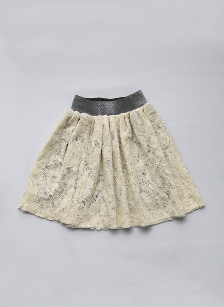 Vierra Rose Flora Lace Tutu in Natural - FINALE SALE