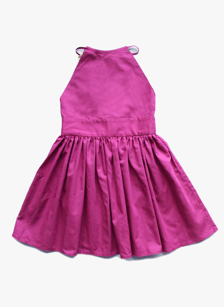 Vierra Rose Julietta Dress in Mauve - FINAL SALE
