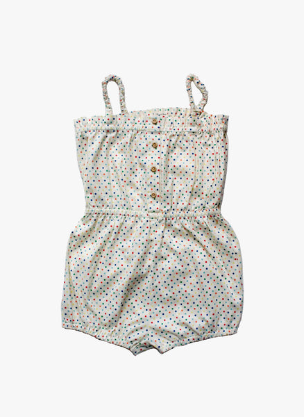 Vierra Rose Lily Romper in Polka Dot - FINAL SALE