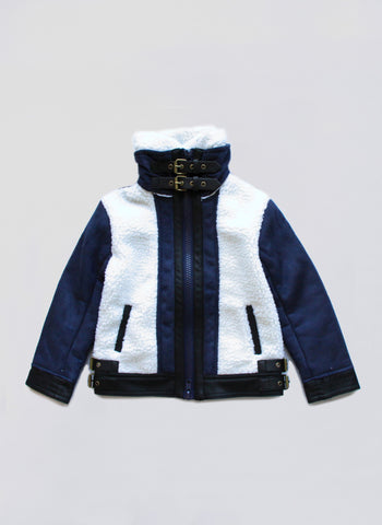 Vierra Rose McKenzie Jacket in Navy - FINAL SALE
