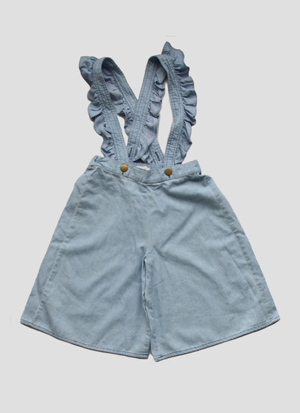 Vierra Rose Sasha Culotte in Chambray - FINAL SALE