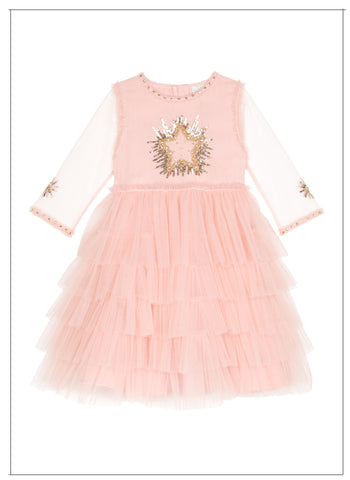 Wild and Gorgeous Moon Dance Dress in Dusty Pink